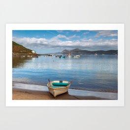 Morfa Nefyn Bay Art Print