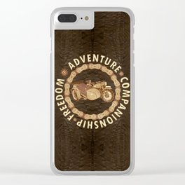 Sidecar Clear iPhone Case