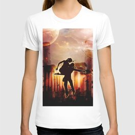 Dancing in the night T-shirt