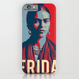 Frida Kahlo Hope Pop Art iPhone Case