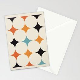 Art print mid century modern, mid century modern art, mid century modern decor, prints, abstract art Stationery Cards