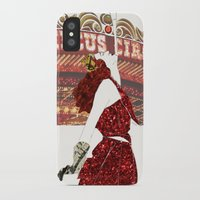 ruby iPhone & iPod Cases featuring Ruby by Kats Illustration