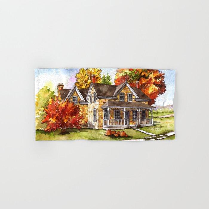 October on the Farm Hand & Bath Towel