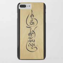 Everything Happens for a Reason iPhone Case