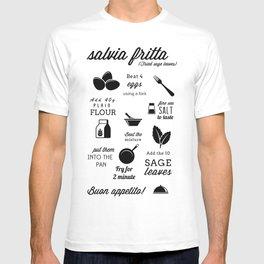 salvia fritta BW T-shirt