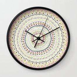 Mandala Peace Wall Clock