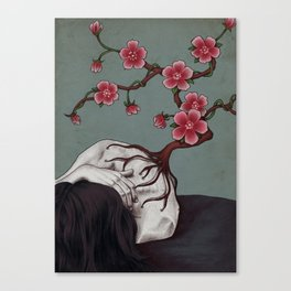 Spinal Flower Canvas Print