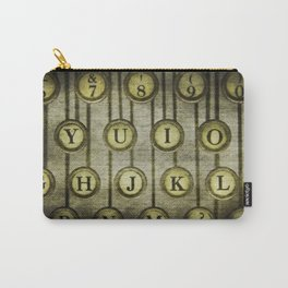 Typewriter Keys 2 Carry-All Pouch