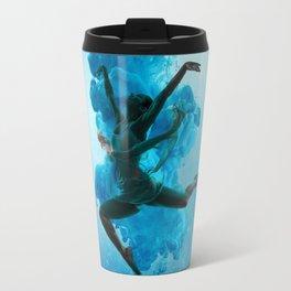 Ballet Dancer in Deep Sea. Travel Mug