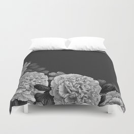 Flowers in the night Duvet Cover