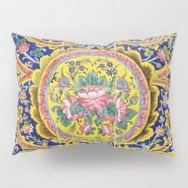 Floral Persian Tile Pillow Sham