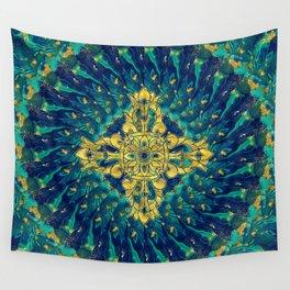 Double Dorje - Vishvavajra  -Vajra Wall Tapestry