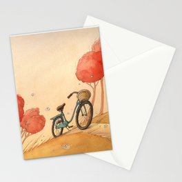 Lonely Bike Stationery Cards