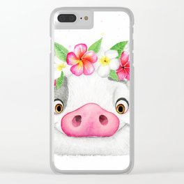 Pua Clear iPhone Case