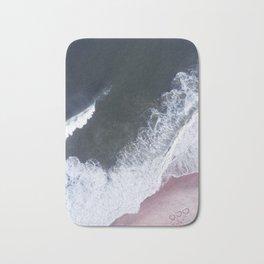 I love the sea - heart and soul Bath Mat