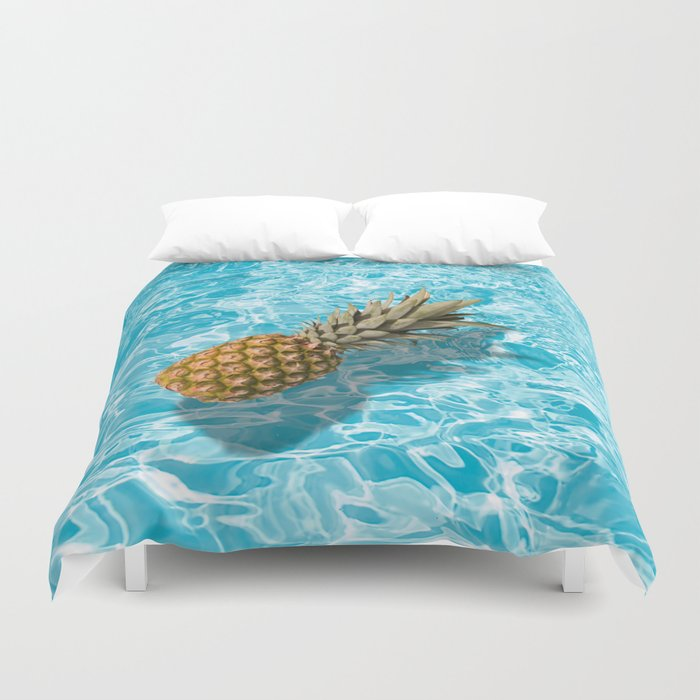 PINEAPPLE & POOL Duvet Cover