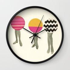 Dancing Feet Wall Clock