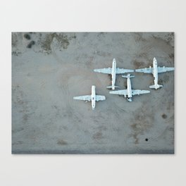Avion Canvas Print