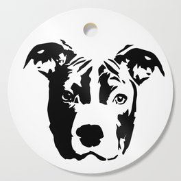 Pit Bull Terrier Dog Cutting Board