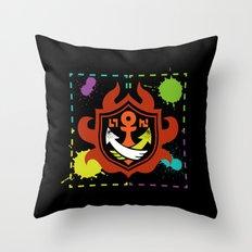 Splatoon - Game of Zones Throw Pillow