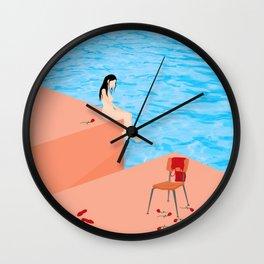 Meet Me Halfway Wall Clock
