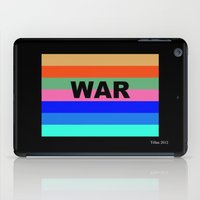 war iPad Cases featuring WAR by Tillus