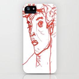 inspired in Egon Schiele 02 iPhone Case