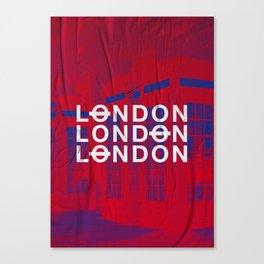 London slap up Canvas Print