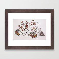 the garden of life Framed Art Print