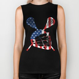 A Sports Tee For Sporty You With An Illustration Of A Helmet American Flag T-shirt Design America Biker Tank