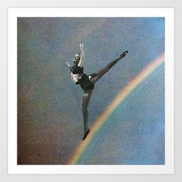 flying dance 2 Art Print