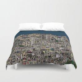 London Favela Duvet Cover