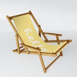 HELLO YELLOW Sling Chair