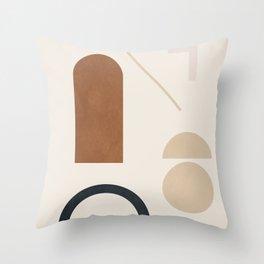 Geometric Modern Art 32 Throw Pillow