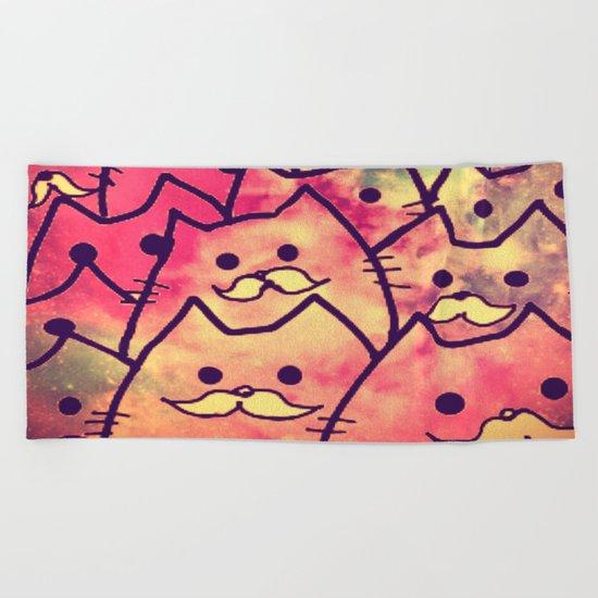 cat-34 Beach Towel