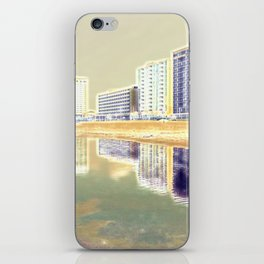 Oceanfront Reflections iPhone Skin