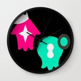 Pearl & Marina - Splatoon 2 (Ink Edition) Wall Clock
