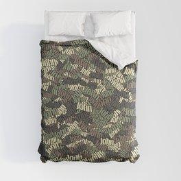 John Camouflage Comforters