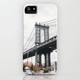 Manhattan Bridge, New York City iPhone Case