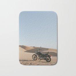 Yahama in the desert Bath Mat