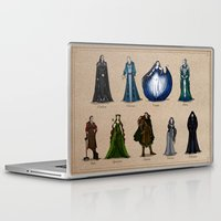 valar morghulis Laptop & iPad Skins featuring The Aratar by wolfanita