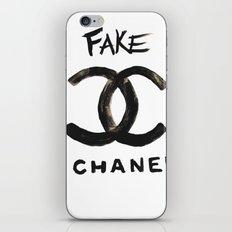 ''FAKE'' iPhone & iPod Skin