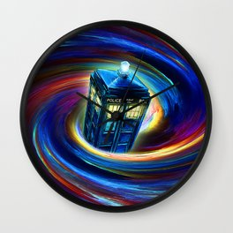 TIME VORTEX Wall Clock