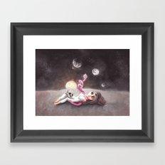 Lost far away from home Framed Art Print