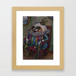 King Of Humpty Dumpty Framed Art Print