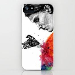 Goodbye depression iPhone Case