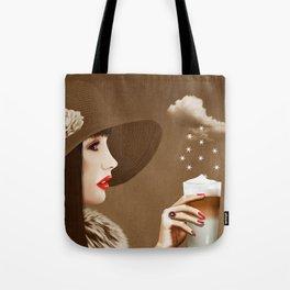 Heavenly Latte Macchiato Tote Bag