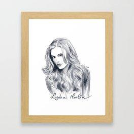 Lydia Martin - Holland Roden Framed Art Print