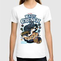 kaiju T-shirts featuring Kaiju Crunch by Matt Dearden