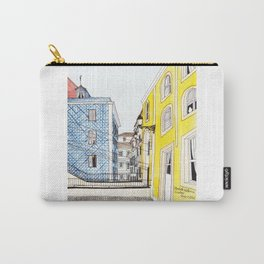 Beautiful Lisbon by Charlotte Vallance Carry-All Pouch